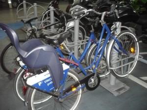 vélo bleu a toulon