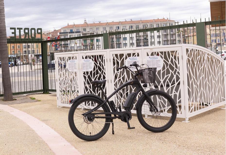 Exemple de vélobox à La Seyne-sur-Mer - Parc de la Navale